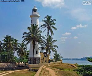 Galle Lighthouse, Sri Lanka puzzle