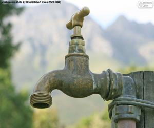 Garden faucet puzzle