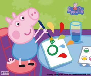 George starts school puzzle