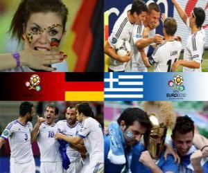 Germany - Greece, quarter-finals, Euro 2012 puzzle