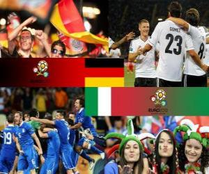 Germany - Italy, semi-finals Euro 2012 puzzle
