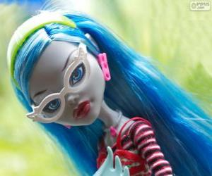 Ghoulia Yelps from Monster High puzzle