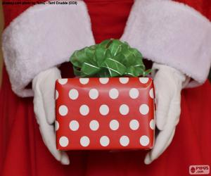 Gift of Santa Claus puzzle