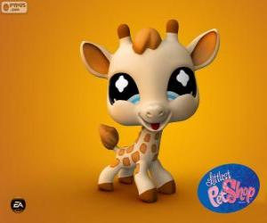 Giraffe from the Littlest PetShop puzzle