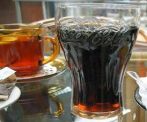 Glass of soda puzzle