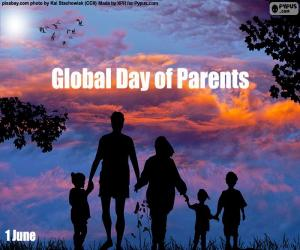 Global Day of Parents puzzle