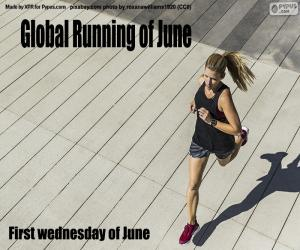 Global Running Day puzzle