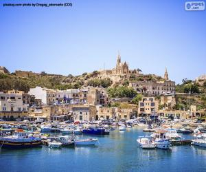 Goajnsielem, Gozo, Malta puzzle