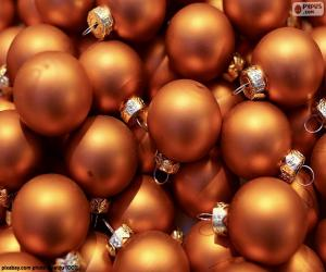 Golden Ball of Christmas puzzle