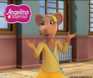 Gracie, character from Angelina Ballerina puzzle