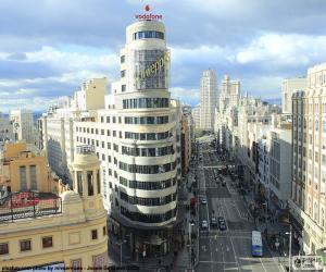Gran Via, Madrid puzzle