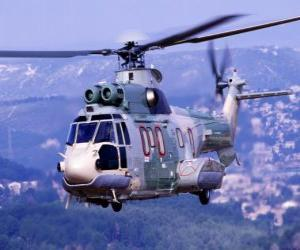 Grand helicopter puzzle