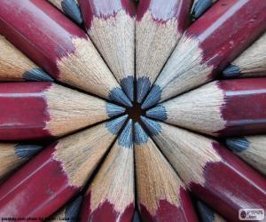 Graphite pencils puzzle