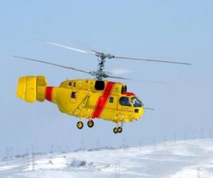 Great helicopter Kamov Ka-32A11BC puzzle