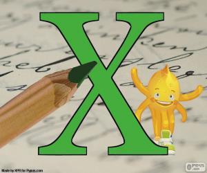 Greek letter Chi puzzle