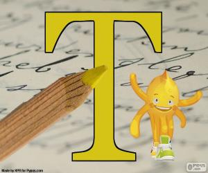 Greek letter Tau puzzle
