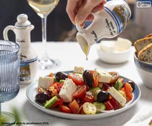 Greek salad puzzle