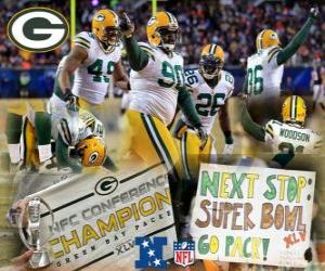 6310b0f6ce9 Green Bay Packers NFC Champion 2010-11