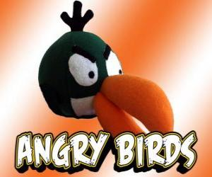 Green Bird (Green Bird), bird with boomerang effect puzzle