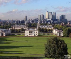 Greenwich Park, London puzzle