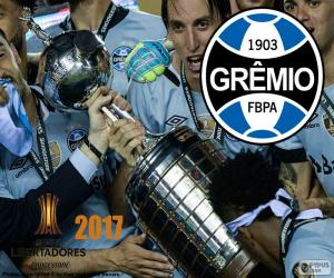 Gremio, Libertadores 2017 champion puzzle