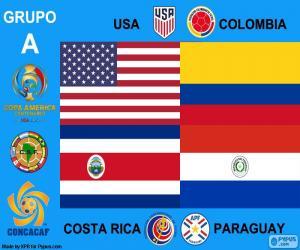 Group A, Copa América Centenario puzzle