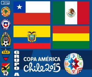 Group A, Copa America 2015 puzzle