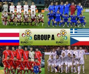Group A - Euro 2012 - puzzle