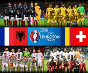 Group A, Euro 2016 puzzle