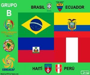 Group B, Copa América Centenario puzzle