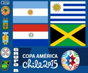 Group B, Copa America 2015 puzzle