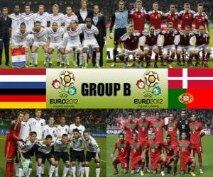 Group B - Euro 2012- puzzle