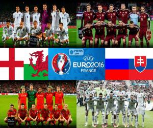 Group B, Euro 2016 puzzle