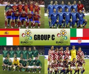 Group C - Euro 2012 - puzzle