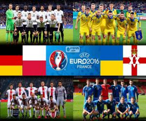 Group C, Euro 2016 puzzle