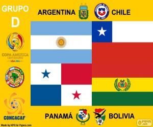 Group D, Copa América Centenario puzzle