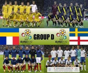 Group D - Euro 2012 - puzzle
