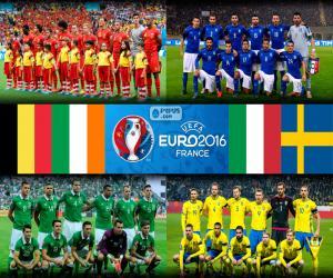 Group E, Euro 2016 puzzle