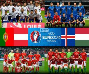Group F, Euro 2016 puzzle