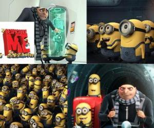 Groups with his army of minions called minions. puzzle