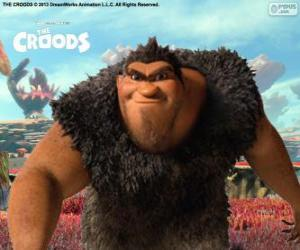 Grug, The Croods puzzle