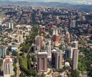 Guatemala City, Guatemala puzzle