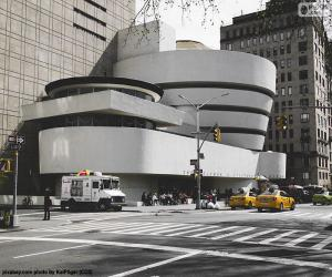 Guggenheim Museum in New York puzzle
