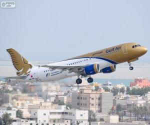 Gulf Air, national airline of the Kingdom of Bahrain puzzle