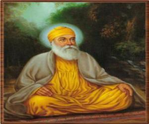 Guru Nanak Dev, founder of Sikhism puzzle