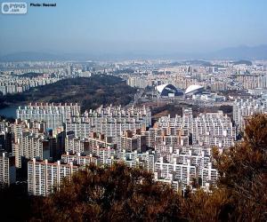 Gwangju, South Korea puzzle