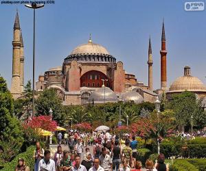 Hagia Sophia, Istanbul, Turkey puzzle