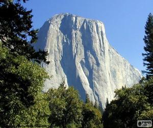 Half Dome, Yosemite, USA puzzle