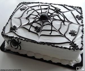 Halloween cake puzzle