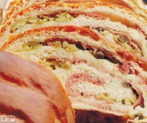 Ham bread, Venezuela puzzle